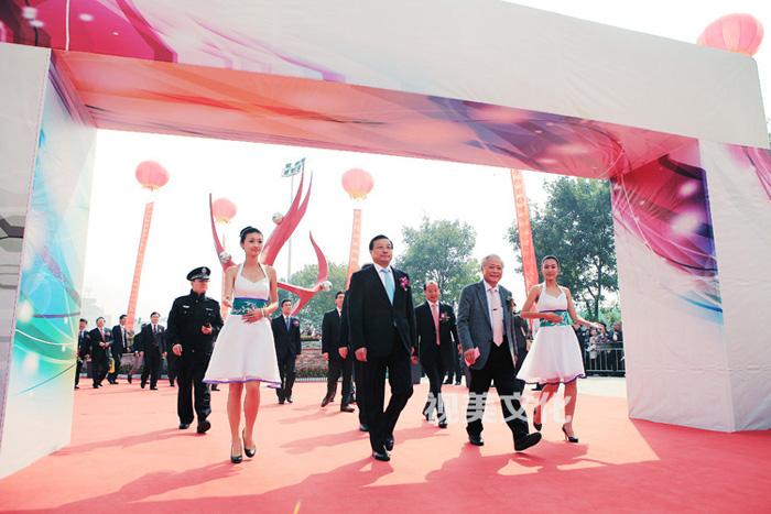 济南和谐广场开业庆典活动